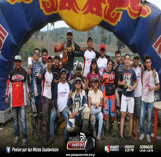 MOTOCROSS INVITACIONAL EN AMATITLAN