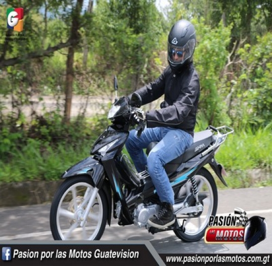 TEST RIDE FORTUNE 125 AHM.
