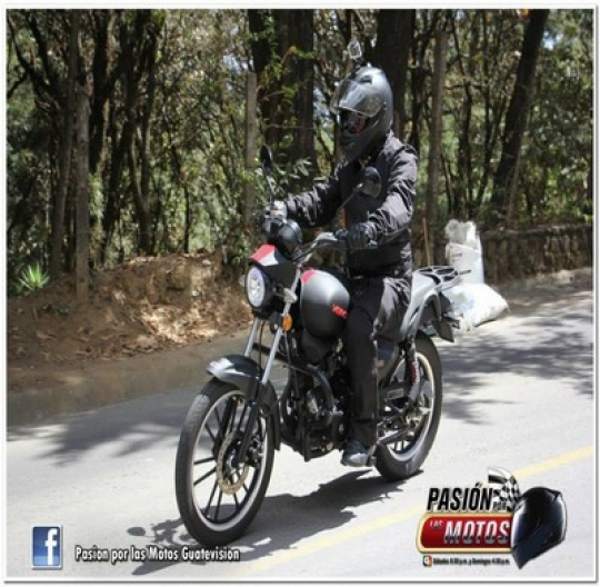 Test Ride Vento Rebellian 200