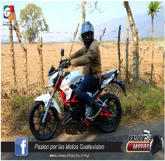 TEST RIDE AHM FURIA 200R