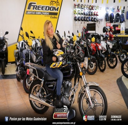 TEST RIDE FREEDOM FIRE 210